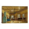 <strong>iCanvasArt</strong> Fine Art 'The Music Room of Archduchess Margarete' by Heinrich Von Forster Painting Print on Canvas