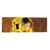 iCanvasArt 'The Kiss' by Gustav Klimt Painting Print on Canvas