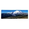 iCanvas Panoramic Snowcapped Mountain, Mt Rainier, Mt Rainier National Park, Pierce County, Washington State Photographic Print on Canvas
