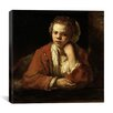 "<strong>iCanvasArt</strong> ""The Kitchen Maid"" Canvas Wall Art by Rembrandt"