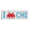 iCanvas Space Invaders I Invade Chicago Tile Graphic Art on Canvas