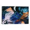 iCanvasArt 'The Green Horse' by Franz Marc Painting Print on Canvas