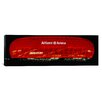 iCanvas Panoramic Soccer Stadium Lit up at Night, Allianz Arena, Munich, Germany Photographic Print on Canvas