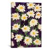 "iCanvasArt ""Shasta Daisies"" Canvas Wall Art by Mary Russell"