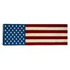 iCanvasArt Flags U.S.A. - Graphic Art on Canvas