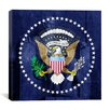 iCanvas Flags U.S. Presidential Lincoln Memorial Graphic Art on Canvas