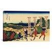 iCanvas 'Senju, Musashi Province (Bushu Senju)' by Katsushika Hokusai Painting Print on Canvas