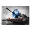 iCanvas Flags Army Abrams Tank Graphic Art on Canvas