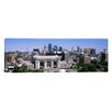 iCanvas Panoramic Union Station with City skyline in Background, Kansas City, Missouri Photographic Print on Canvas