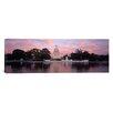 iCanvasArt Panoramic U.S. Capitol Washington, D.C Photographic Print on Canvas