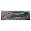 iCanvasArt Panoramic Sold Out Crowd at Mile High Stadium Photographic Print on Canvas