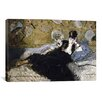 iCanvasArt 'The Lady with Fans (Nina de Callias)' by Edouard Manet Painting Print on Canvas