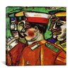 "iCanvas ""Soldiers, 1912"" Canvas Wall Art by Marc Chagall"