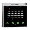 iCanvas Space Invaders - Battle Stage 2.0 Canvas Wall Art