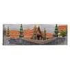iCanvasArt Panoramic The Grand Palace, Bangkok, Thailand Photographic Print on Canvas