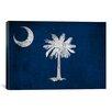 iCanvas Flags South Carolina Cracks Graphic Art on Canvas
