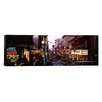 iCanvas Panoramic Traffic on a Road, Grant Avenue, Chinatown, San Francisco, California Photographic Print on Canvas