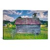 iCanvas 'Small Barn' by Bob Rouse Painting Print on Canvas
