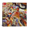 "iCanvas ""Small Pleasures"" Canvas Wall Art by Wassily Kandinsky"