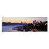 iCanvas Panoramic Sunrise, Lake Union, Seattle, Washington State Photographic Print on Canvas