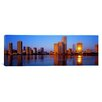 iCanvas Panoramic Sunrise, Miami, Florida Photographic Print on Canvas