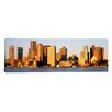 iCanvas Panoramic Sunrise, Skyline, Boston, Massachusetts Photographic Print on Canvas