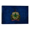 iCanvasArt Flags Vermont Board Graphic Art on Canvas