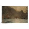 iCanvas 'Skating Scene 1865' by Winslow Homer Painting Print on Canvas