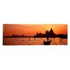<strong>iCanvasArt</strong> Panoramic Santa Maria Della Salute, Grand Canal, Venice, Italy Photographic Print on Canvas