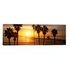 iCanvasArt Panoramic San Clemente Pier, Los Angeles County, California Photographic Print on Canvas