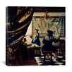"iCanvas ""The Art of Painting"" Canvas Wall Art by Johannes Vermeer"
