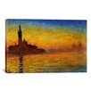 "iCanvas ""Twilight in Venice"" Canvas Wall Art by Claude Monet"