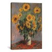 "iCanvas ""Sunflowers 1889"" by Vincent Van Gogh Canvas Painting Print"