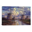 "iCanvasArt ""Summer Skies"" Canvas Wall Art by Randy Van Beek"