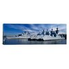 iCanvasArt Panoramic Warships at a Naval Base, Philadelphia, Philadelphia County, Pennsylvania Photographic Print on Canvas