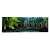 iCanvas Panoramic Wat Temple Complex of Ta-Prohm Cambodia Photographic Print on Canvas