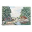 "iCanvas ""Summertime: Morris Canal"" Canvas Wall Art by Stanton Manolakas"