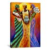 iCanvasArt Sisters of the Sun by Keith Mallett Graphic Art on Canvas