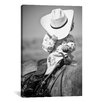 "iCanvasArt ""True Cowgirl"" Canvas Wall Art by Dan Ballard"