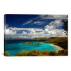 iCanvas 'Trunk Bay' Photographic Print on Canvas by J.D. McFarlan
