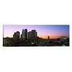 iCanvas Panoramic Silhouette of Skyscrapers at Dusk, City of Los Angeles, California Photographic Print on Canvas