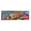 iCanvasArt 'Water Lilies' by Claude Monet Painting Print on Canvas
