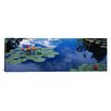 iCanvas Panoramic Water Lilies in a Pond, Denver Botanic Gardens, Denver, Denver County, Colorado Photographic Print on Canvas