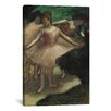 iCanvas 'Trois Danseuses En Rose 1886' by Edgar Degas Painting Print on Canvas