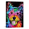 iCanvas 'Westie' by Dean Russo Graphic Art on Canvas