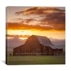 "iCanvas ""Wet Mountain Barn ll"" Canvas Wall Art by Dan Ballard"