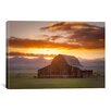 iCanvas Wet Mountain Barn ll by Dan Ballard Photographic Print on Canvas