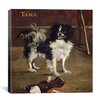 "<strong>""Tama (The Japanese Dog)"" Canvas Wall Art by Pierre-Auguste Renoir</strong> by iCanvasArt"