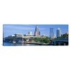 iCanvasArt Panoramic Tampa Convention Center, Skyline, Tampa, Florida Photographic Print on Canvas