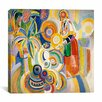 "iCanvasArt ""Tall Portuguese Woman"" Canvas Wall Art by Robert Delaunay"